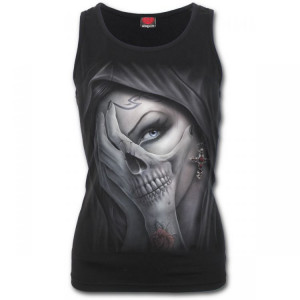 Топ DEAD HAND - Razor Back Top Black - Изображение