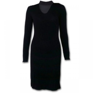Платье GOTHIC ELEGANCE - Neck Band Elegant Dress - Изображение