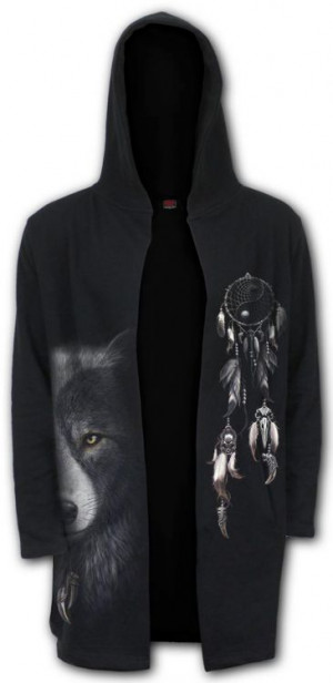 Толстовка WOLF CHI - Occult Hooded Cardigan - Изображение