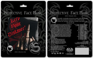 Защитная маска KEEP YOUR DISTANCE - Face Mask - Изображение 2