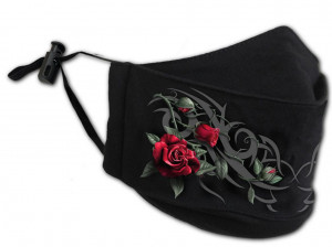 Защитная маска TRIBAL ROSE - Premium Cotton Fashion Mask with Adjuster - Изображение 1