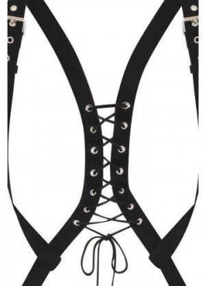 Портупея NECESSARY EVIL GOTHIC MINERVA POCKET HARNESS - Изображение 1