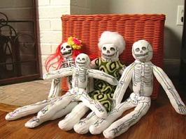 Смотреть как сделать скелета