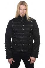Пальто, жакеты, мерцающая пудра, готический макияж