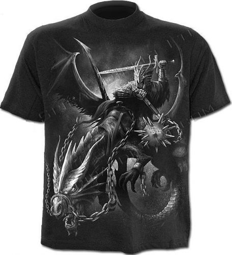 DRAGON MASTER T-Shirt SpecialPrint Blk.  Артикул: GSD - DS120627