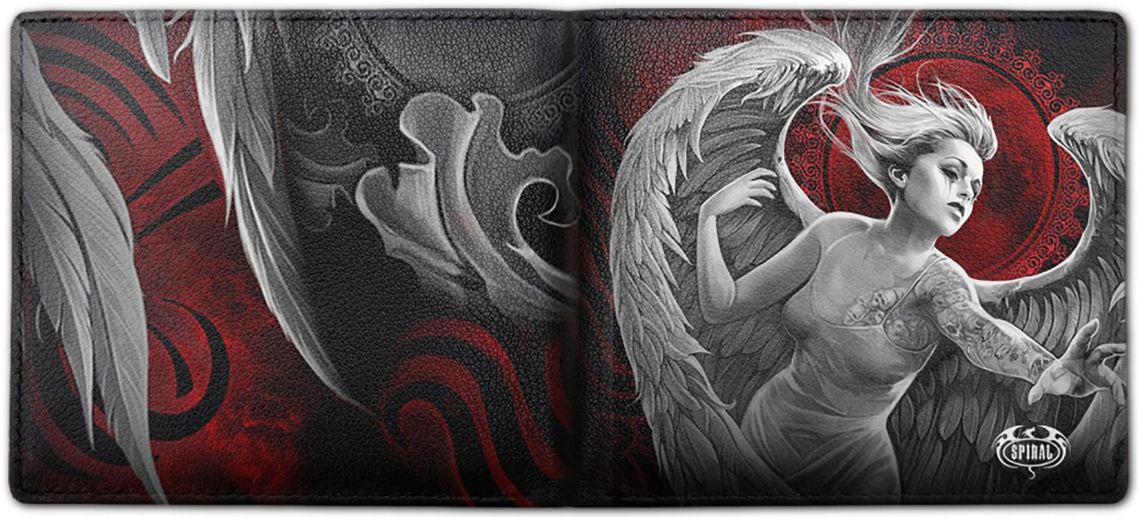 Кошелек ANGEL DESPAIR - BiFold Wallet with RFID Blocking and Gift Box - Изображение