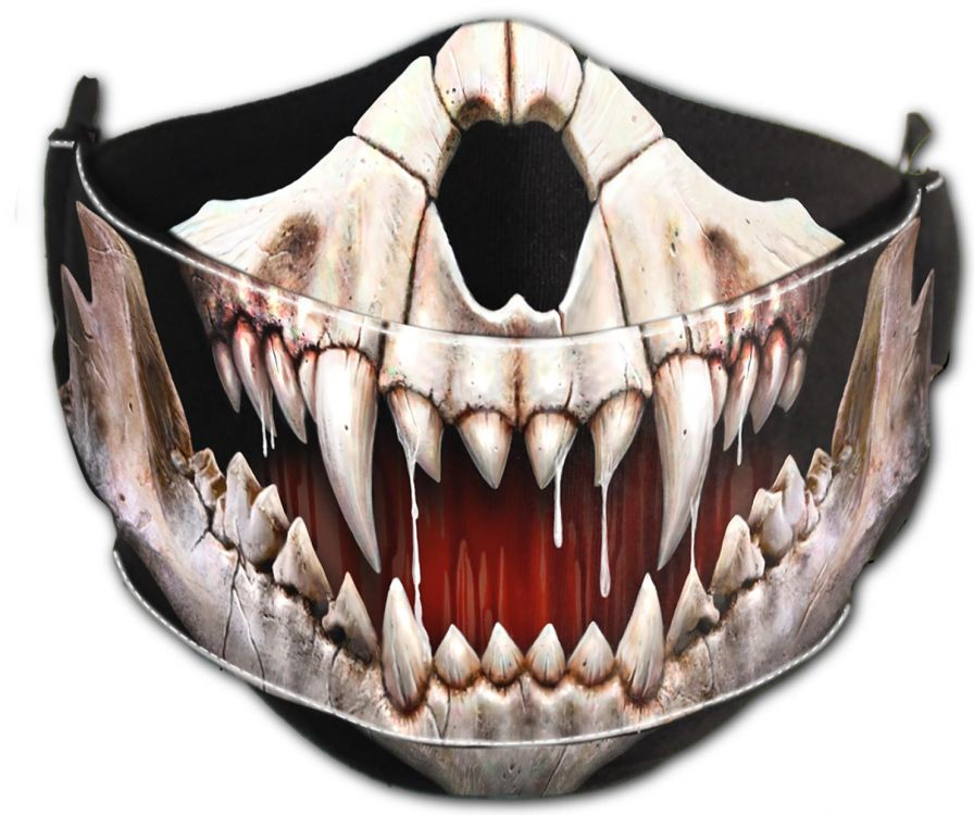 Защитная маска ROCK JAW - Premium Cotton Fashion Mask with Adjuster - Изображение