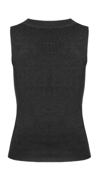 Жилет Cross Hollow punk knitted vest - Изображение 2