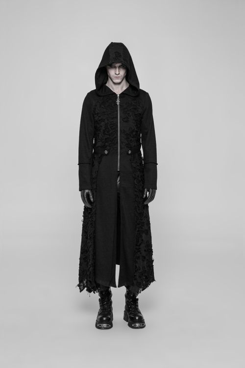Пальто Diablo Long Coat Punk Rave WY-911ZCM/BK Изображение 5