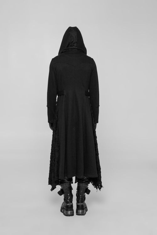 Пальто Diablo Long Coat Punk Rave WY-911ZCM/BK Изображение 7