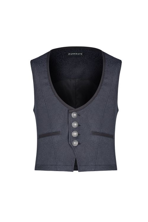Жилет Gentleman Punk Simple Vest - Изображение 3