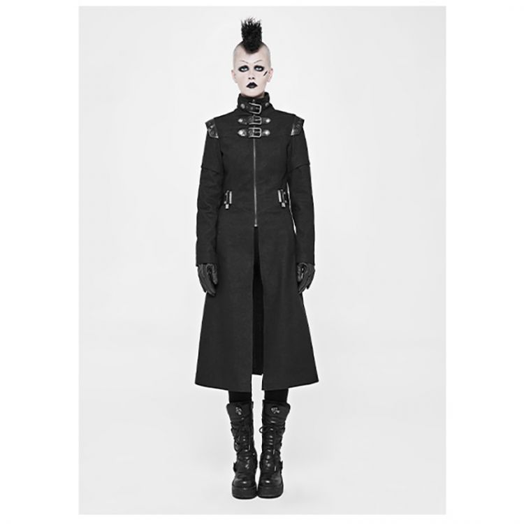Пальто Punk Handsome Military Jacket Punk Rave WY-854XCF/BK / Милитари / Изображение 2