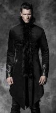 Пальто, жакеты, искусственные пряди волос, готический макияж