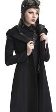 Пальто, жакеты, куртки, готическая помада, компактная пудра