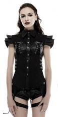 Рубашки, блузки, топы, готический имидж, готическая косметика