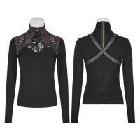 Рубашки, блузки, топы, готические ресницы, бронзирующая пудра