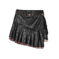 Юбка Uniform Style Bullet Version Skirt Punk Rave Q-250/BK - маленькая картинка