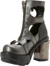 Ботинки, обувь на платформе или на тяжелом каблуке, магазин элитной обуви, мода 2009 обувь