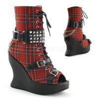 Ботинки, обувь на платформе или на тяжелом каблуке, ванильная пудра, купить тушь