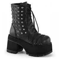 Ботинки, невысокие сапоги на платформе / тяжелом каблуке, готическая помада, магазин косметики