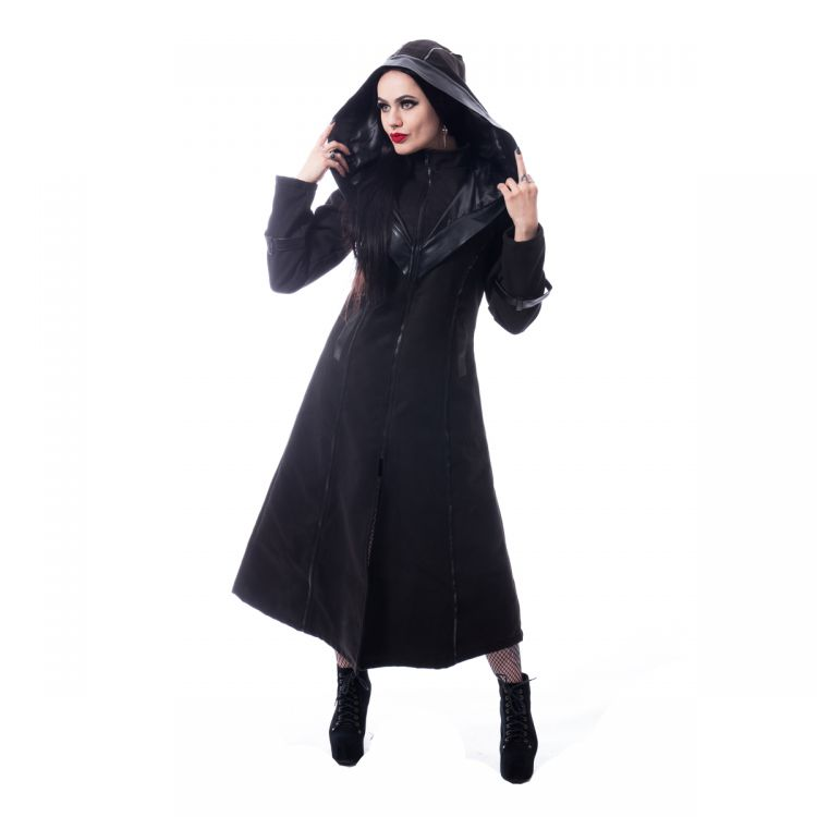 Пальто CORVINA COAT Poizen Industries J-CORVINA-B Изображение 1