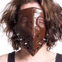 Очки, респираторы, маски, косметическая пудра, краска для волос для готов