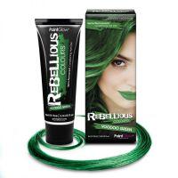 Цветные краски для волос, накладные пряди волос, белые пряди