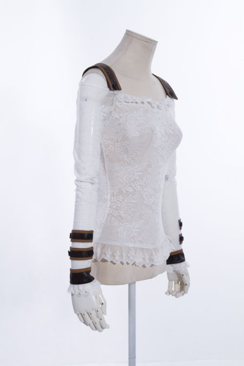 Блузка lace shirt RQ-BL SP019WI Изображение 2