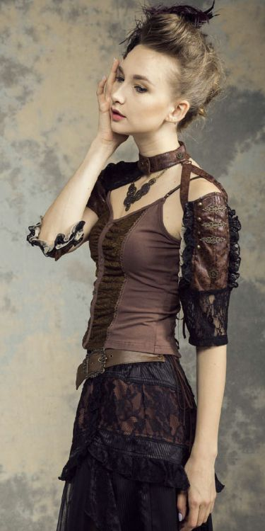 Рукава Steampunk Sleeves Fittings Black - Изображение 5