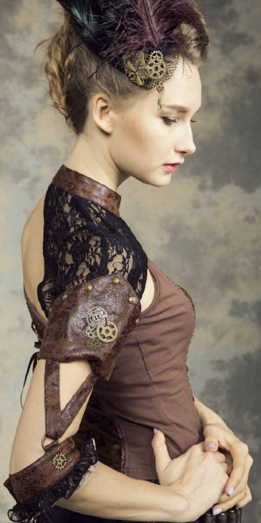 Рукава Steampunk Sleeves Fittings Black - Изображение 6