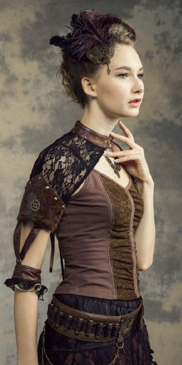 Рукава Steampunk Sleeves Fittings Black - Изображение 3