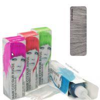Окрашивание волос, зеленая краска для волос, готический макияж