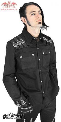 Рубашки и топики, одежда в стиле милитари, вельветовые топики.