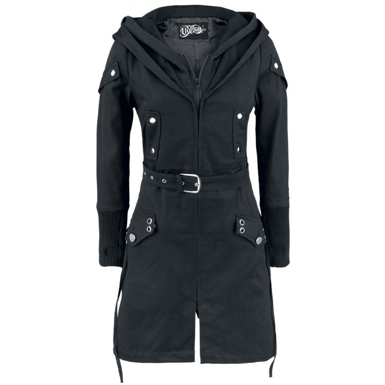 Пальто TWILIGHT COAT LADIES BLACK - Изображение