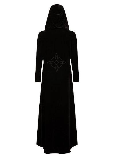 Кардиган NECESSARY EVIL FREYA EMBROIDERED VELVET MAXI CARDI Necessary Evil N1332 Изображение 6