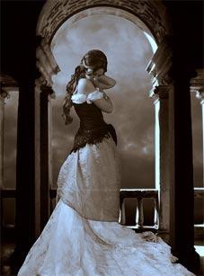 французский стиль в одежде. готический стиль.